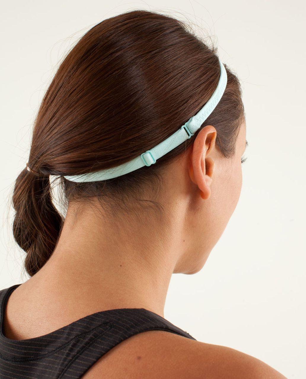 Lululemon Strappy Headband - Aquamarine