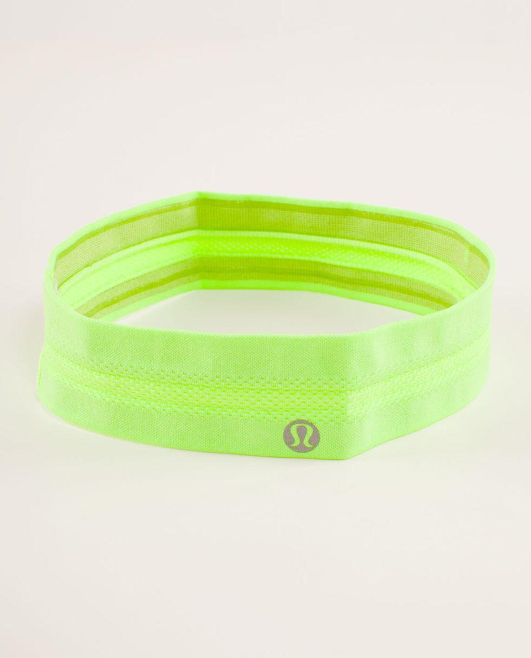 Lululemon Swiftly Headband - Zippy Green