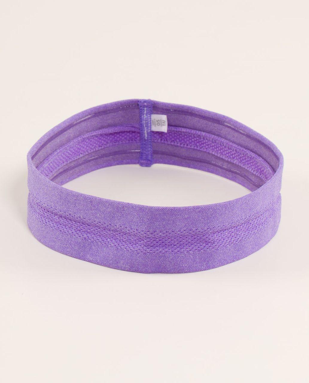 Lululemon Swiftly Headband - Power Purple