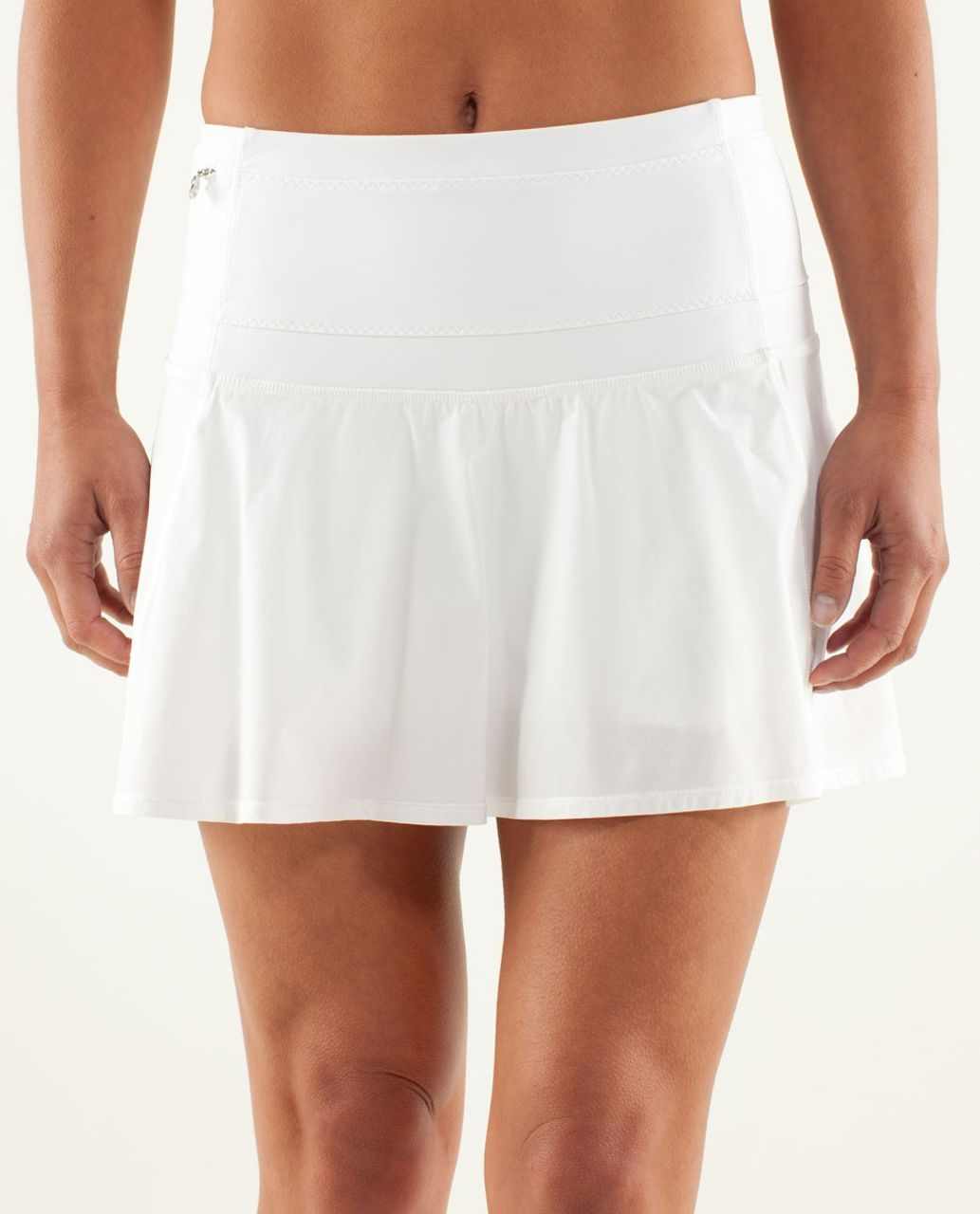 adef2d6797 Lululemon Hot Hitter Skirt - White - lulu fanatics