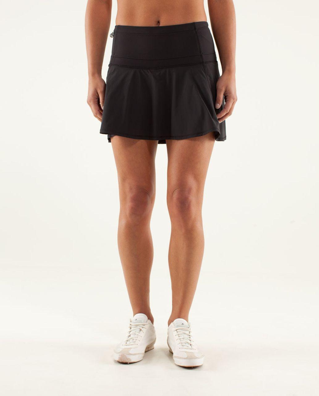 ae9d26c9ae Lululemon Hot Hitter Skirt - Black - lulu fanatics