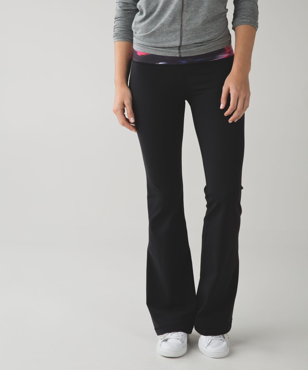Lululemon Groove Pant III (Regular) *Full-On Luon - Black / Pigment Wind White Multi