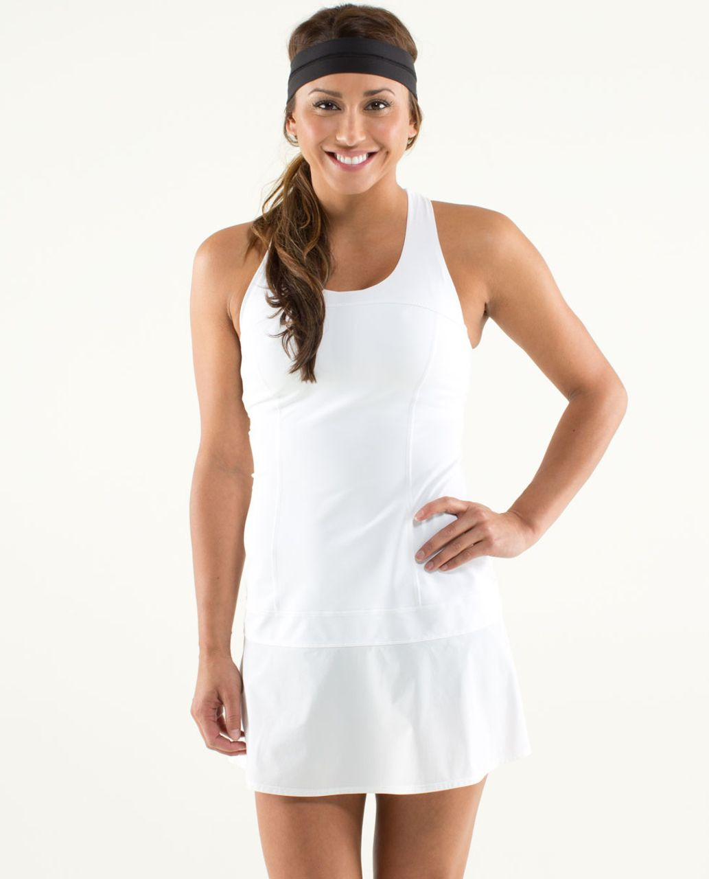 f31efc59e9 Lululemon Hot Hitter Dress - White - lulu fanatics