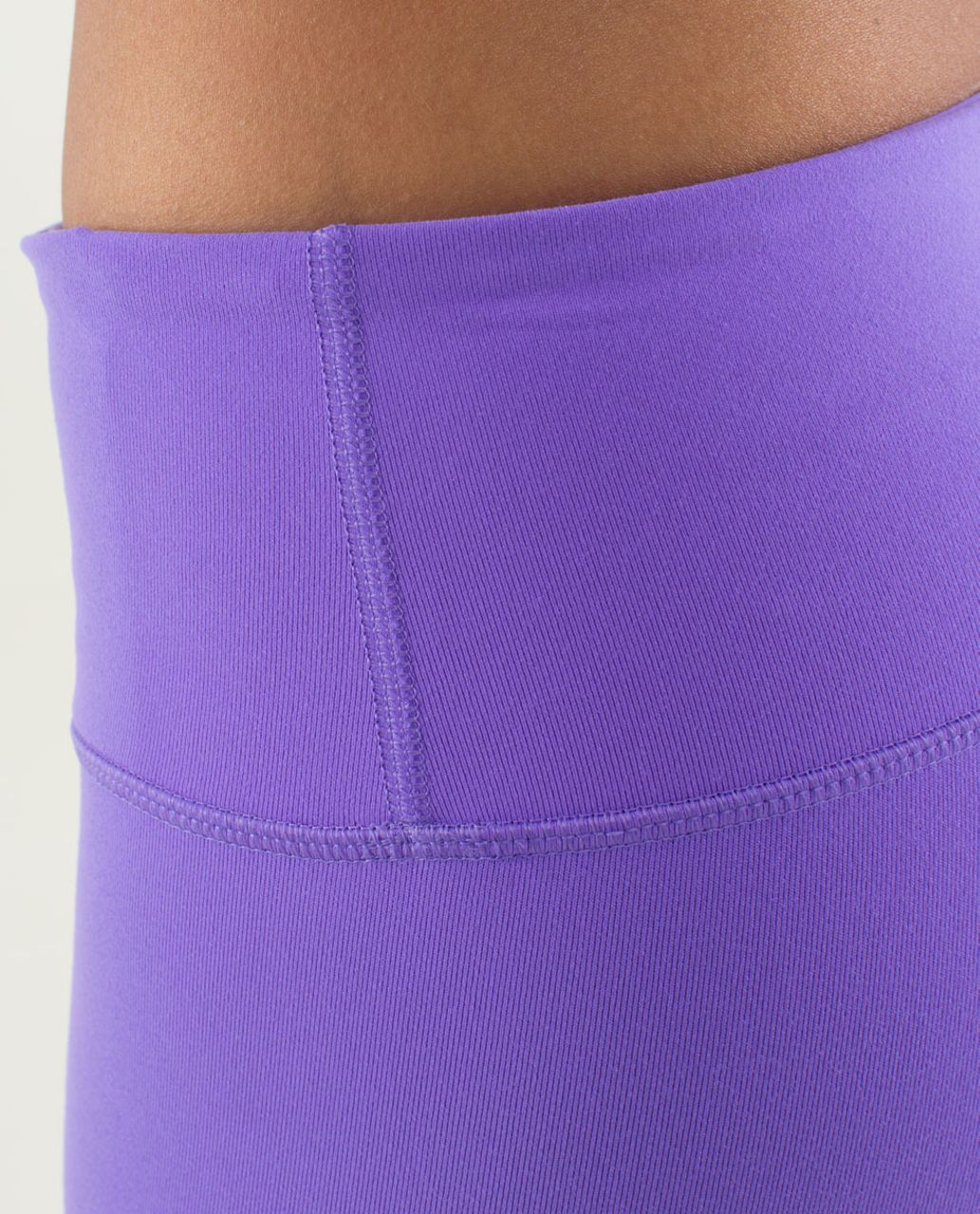 Lululemon Wunder Under Crop - Power Purple