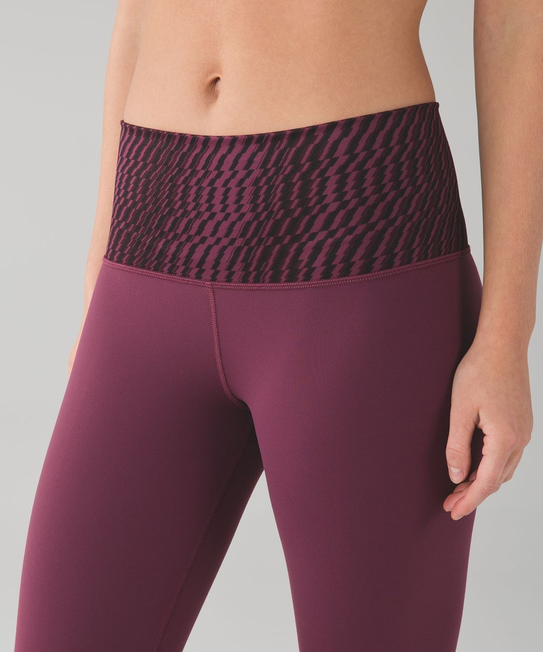 Lululemon Groove Pant III (Regular) *Full-On Luon - Red Grape / Shifted Horizon Red Grape Black