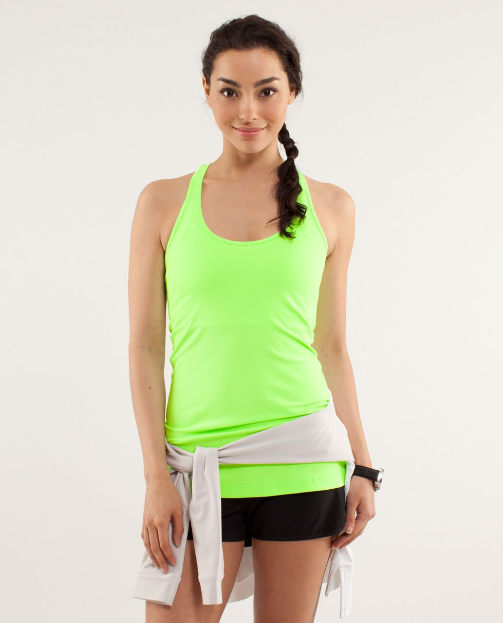 Lululemon Cool Racerback - Zippy Green