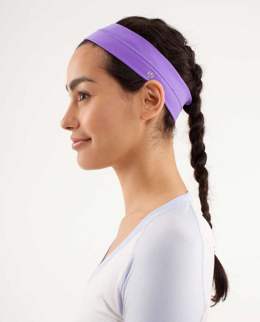 Lululemon Fly Away Tamer Headband - Power Purple
