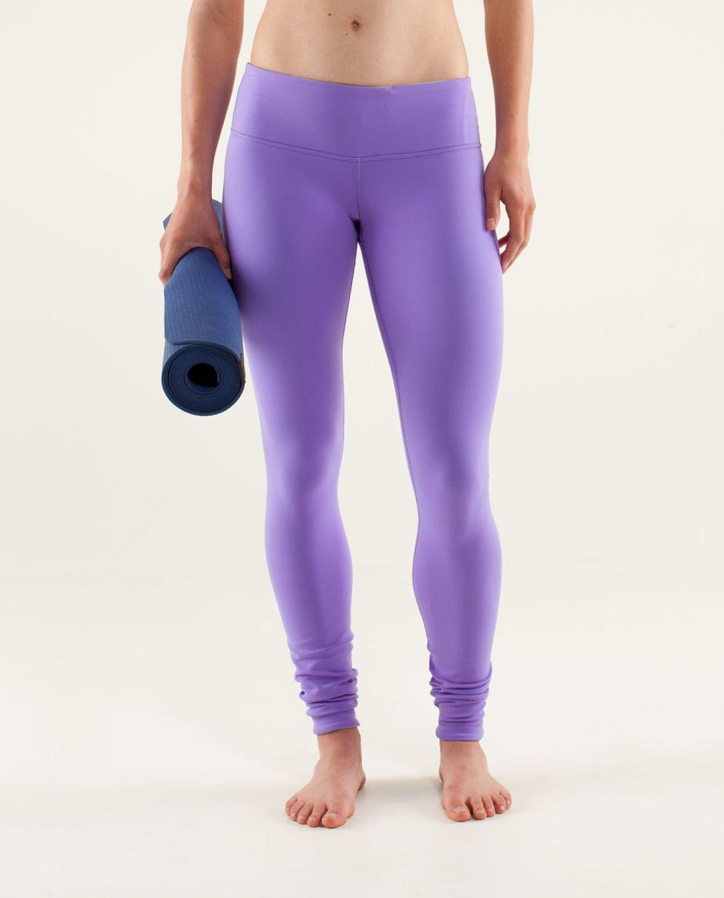 Lululemon Wunder Under Pant *Reversible - Power Purple / Aquamarine
