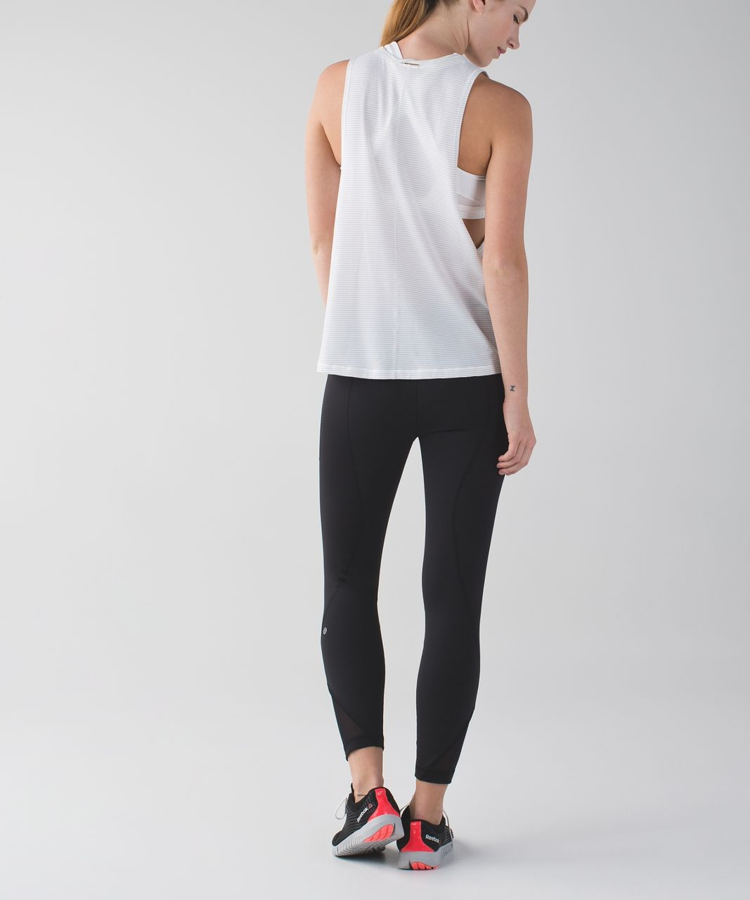 Lululemon Inspire Tight II (Mesh) - Black
