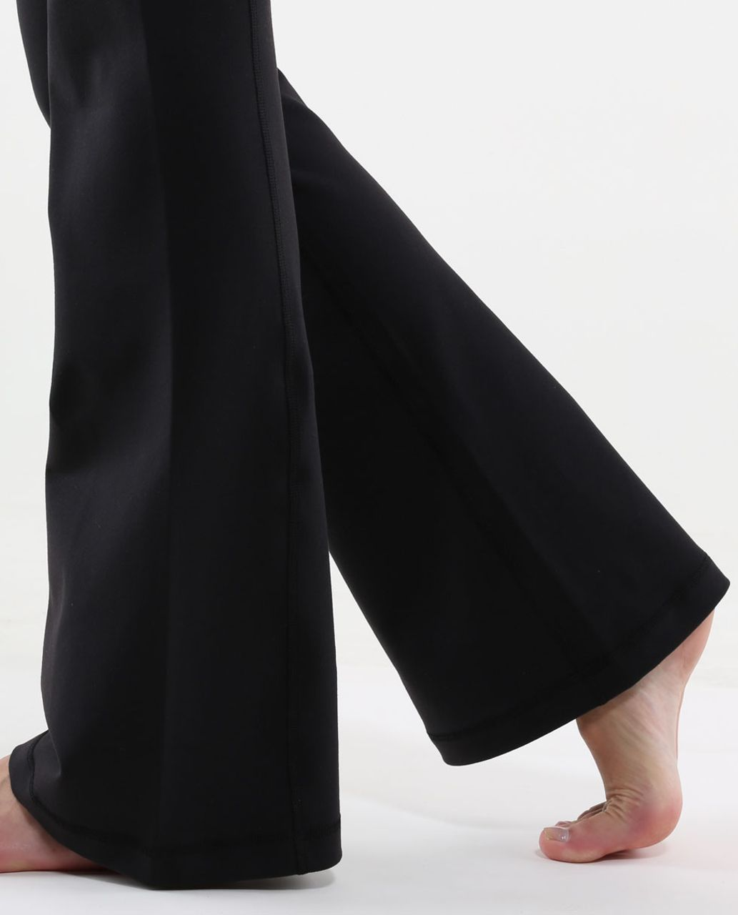 Lululemon Groove Pant (Regular) - Black / Twin Stripe Black / White