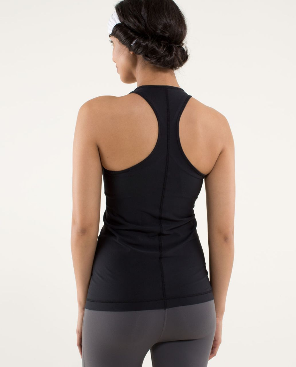 Lululemon Cool Racerback *Mod Waves - Black