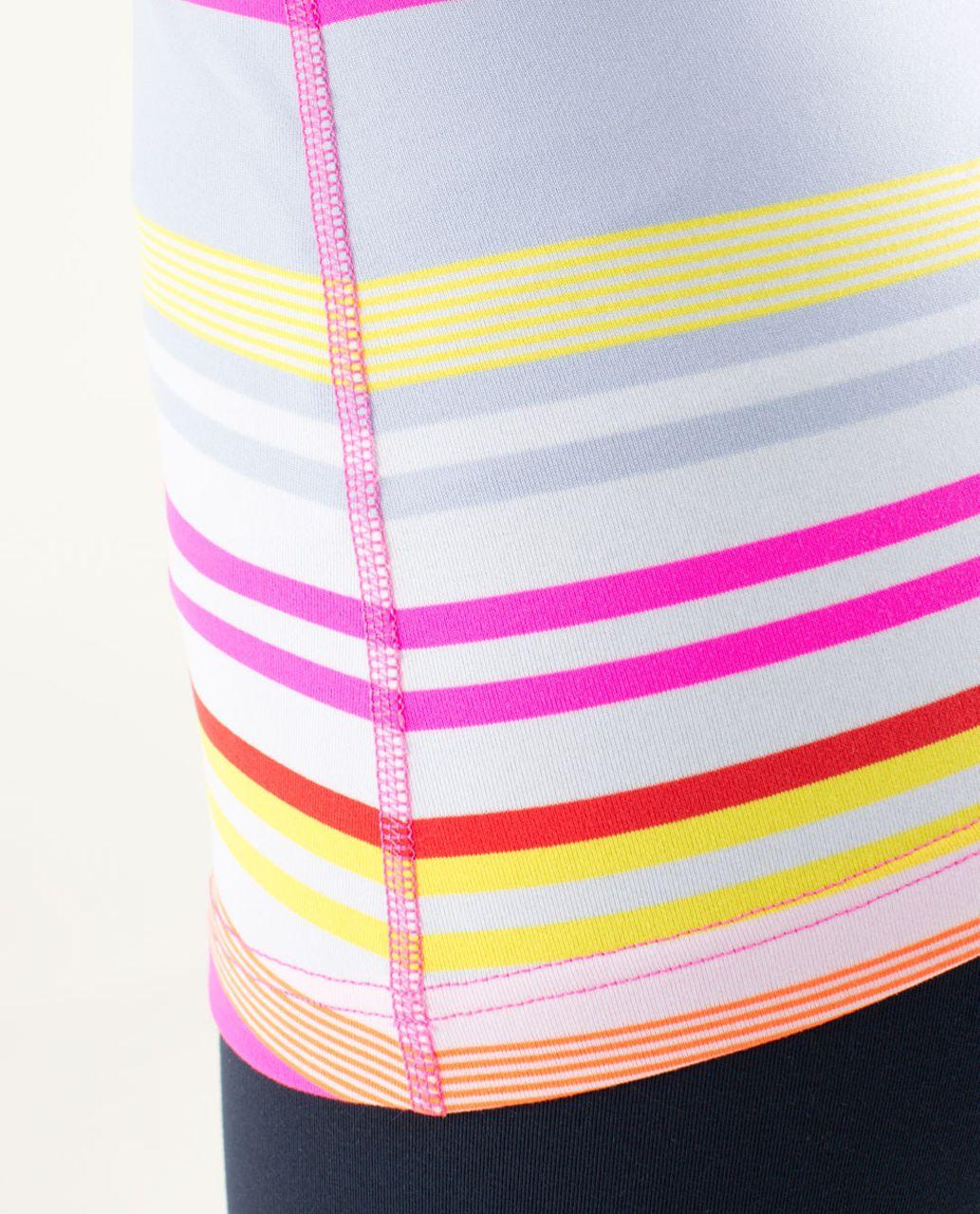 Lululemon Cool Racerback - Groovy Stripe Multi