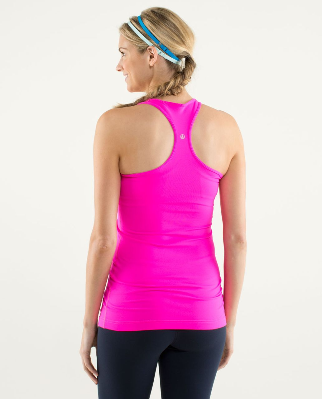 Lululemon Cool Racerback (Second Release) - Raspberry Glo Light