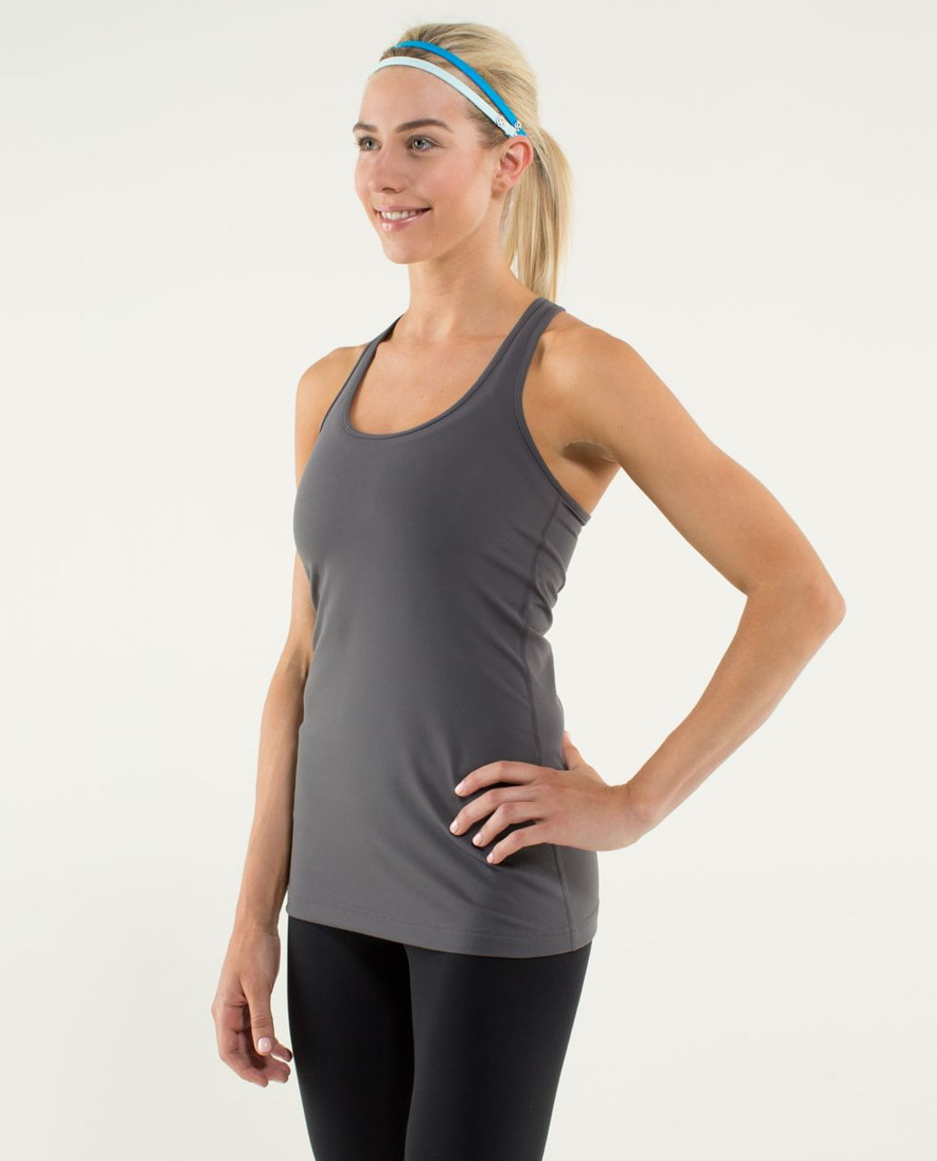 Lululemon Cool Racerback - Soot Light