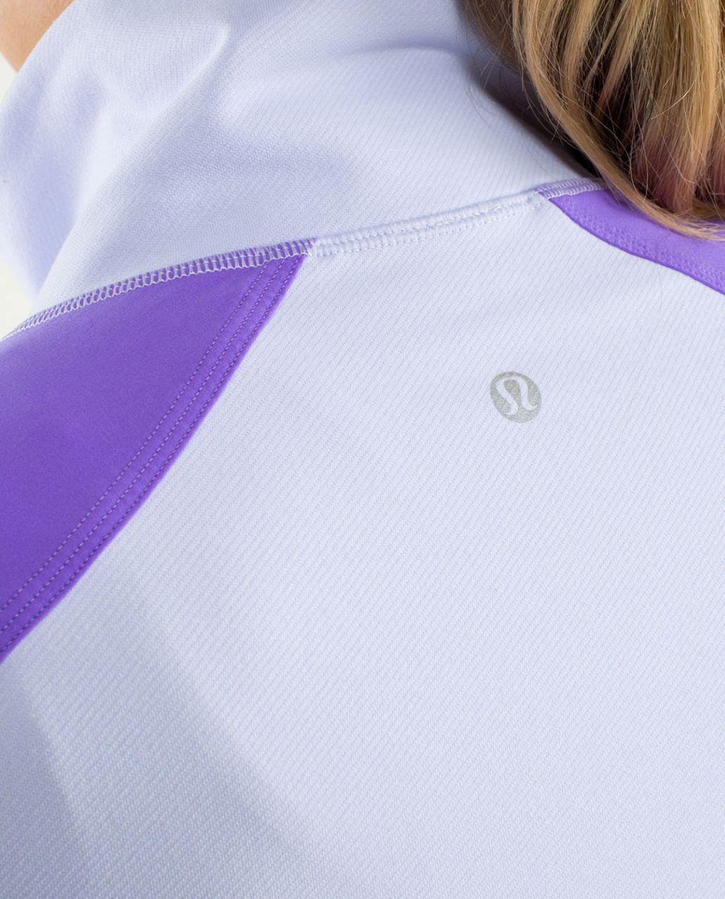 Lululemon Contempo Jacket - Cool Breeze / Power Purple