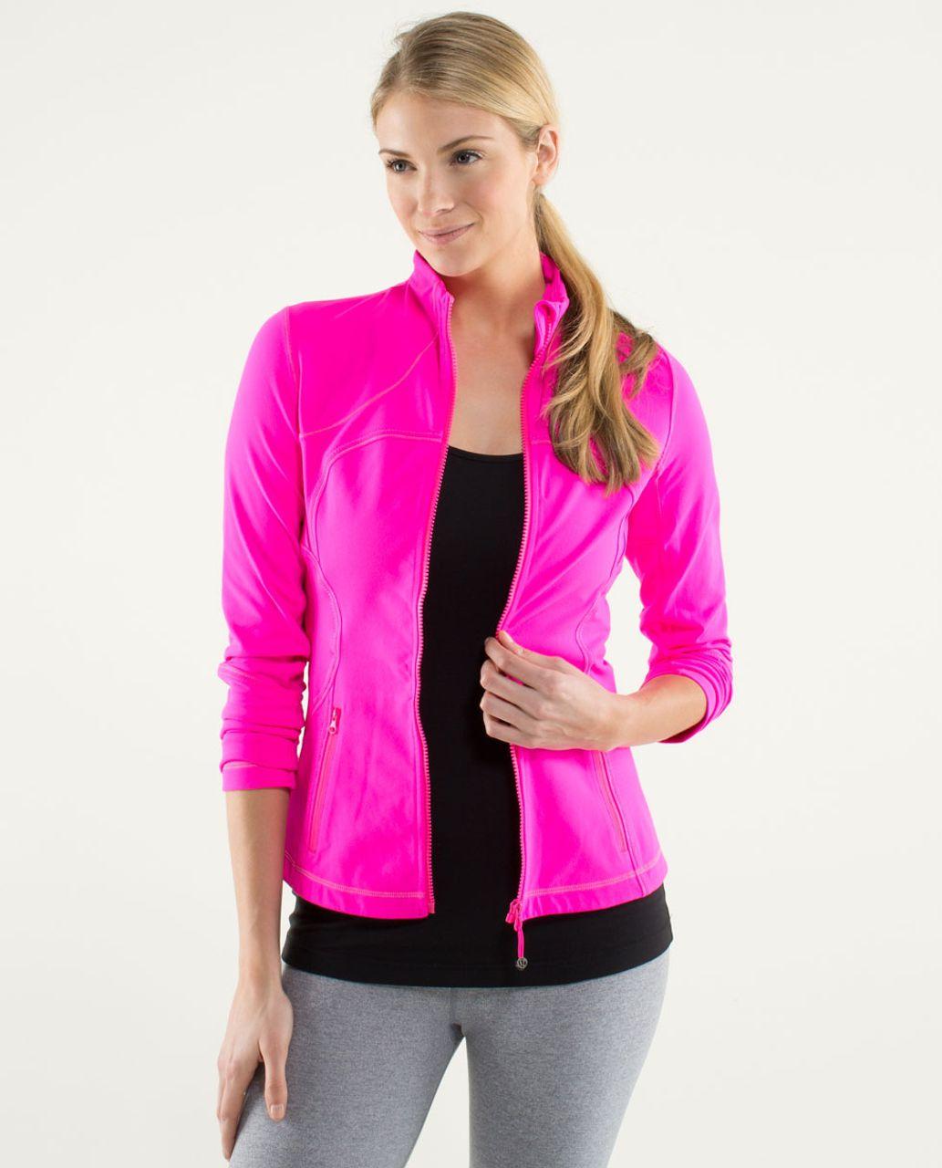 Lululemon Forme Jacket - Raspberry Glo Light