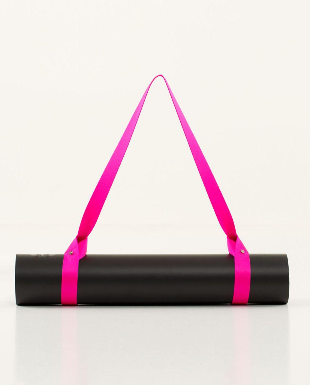 Lululemon Loop It Up Mat Strap - Raspberry Glo Light