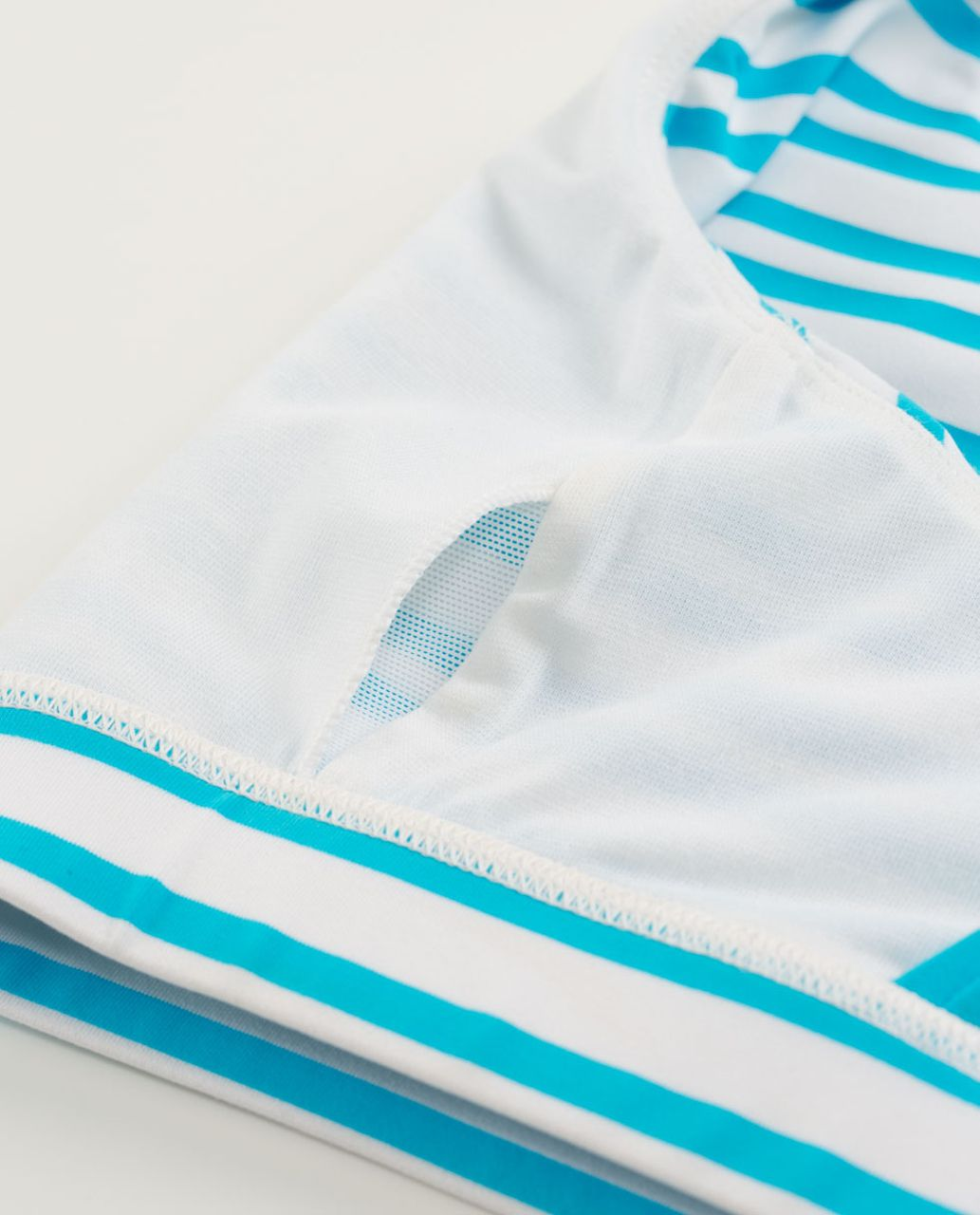 Lululemon Energy Bra - Twin Stripe Spry Blue / Spry Blue