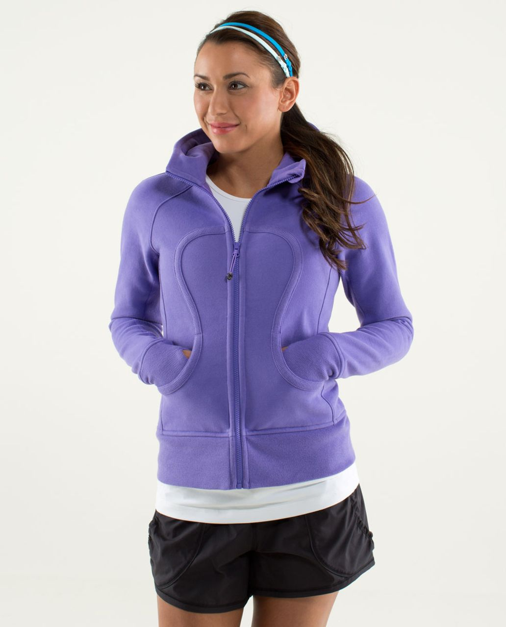 Lululemon Scuba Hoodie *Stretch (Lined Hood) - Power Purple