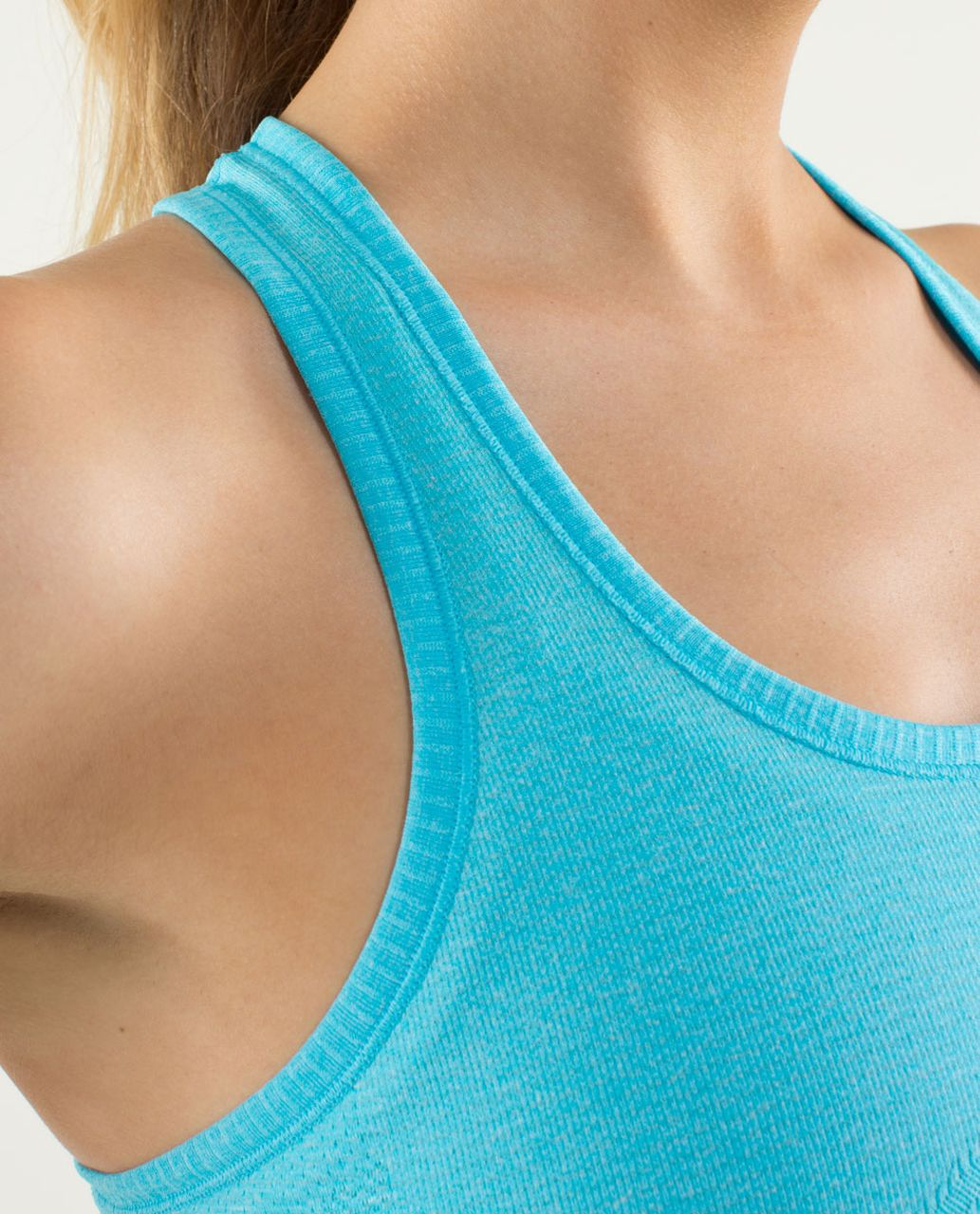 Lululemon Run:  Swiftly Tech Racerback - Spry Blue