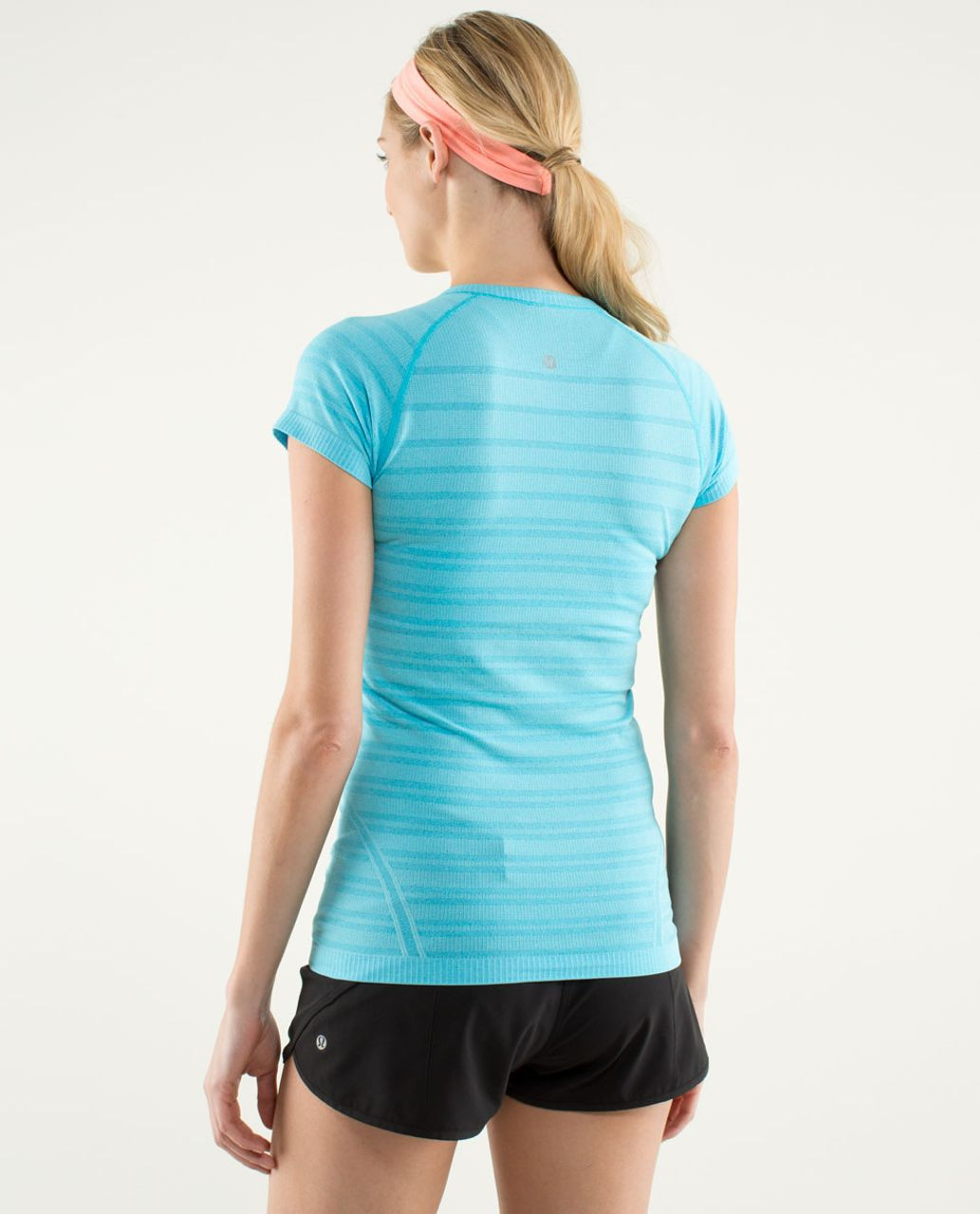 Lululemon Run:  Swiftly Tech Short Sleeve - Spry Blue