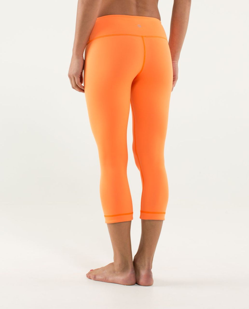 Lululemon Wunder Under Crop *Reversible - Soot Light / Pizzaz