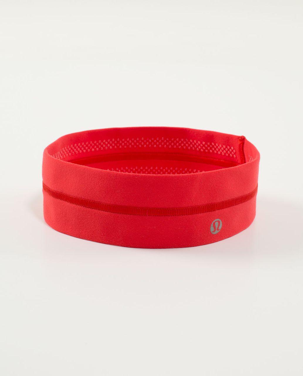 Lululemon Fly Away Tamer Headband - Love Red