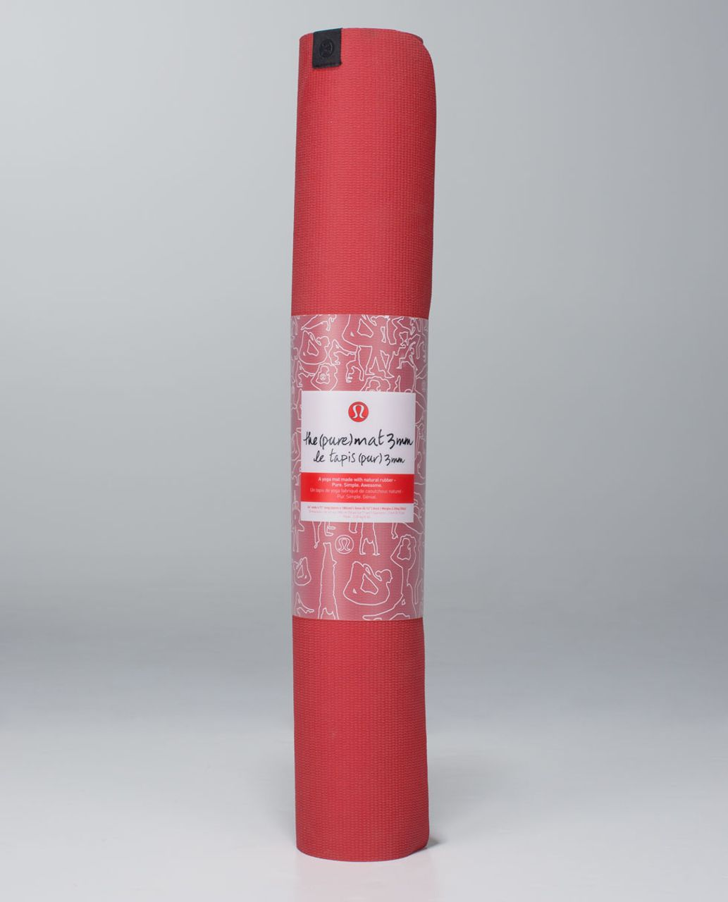 Lululemon The Pure Mat 3mm - Love Red