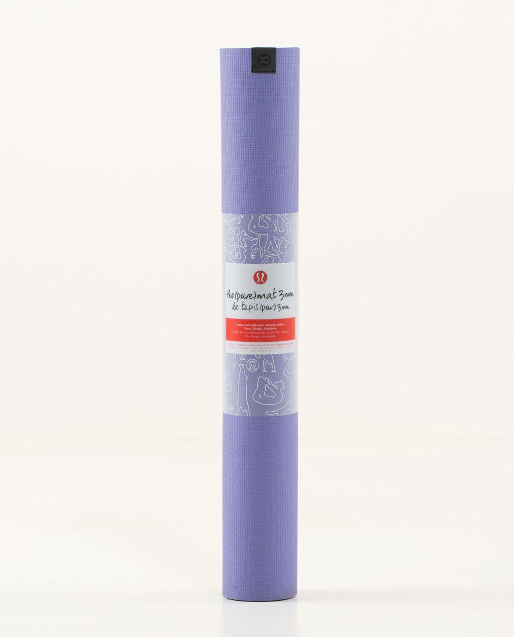 Lululemon The Pure Mat 3mm - Power Purple