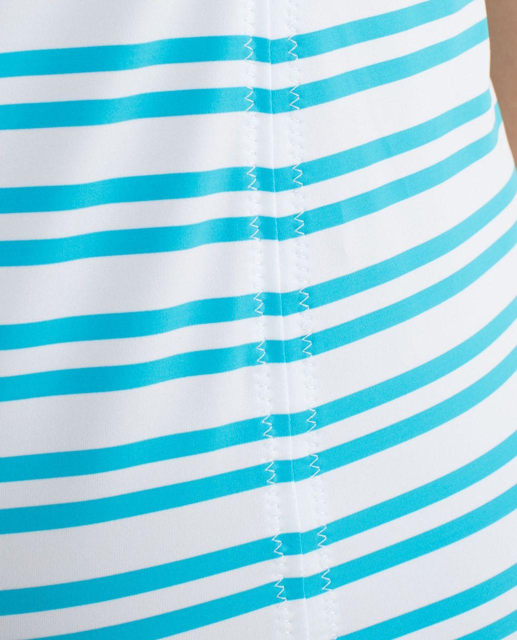 Lululemon Free To Be Tank - Twin Stripe Spry Blue / Spry Blue