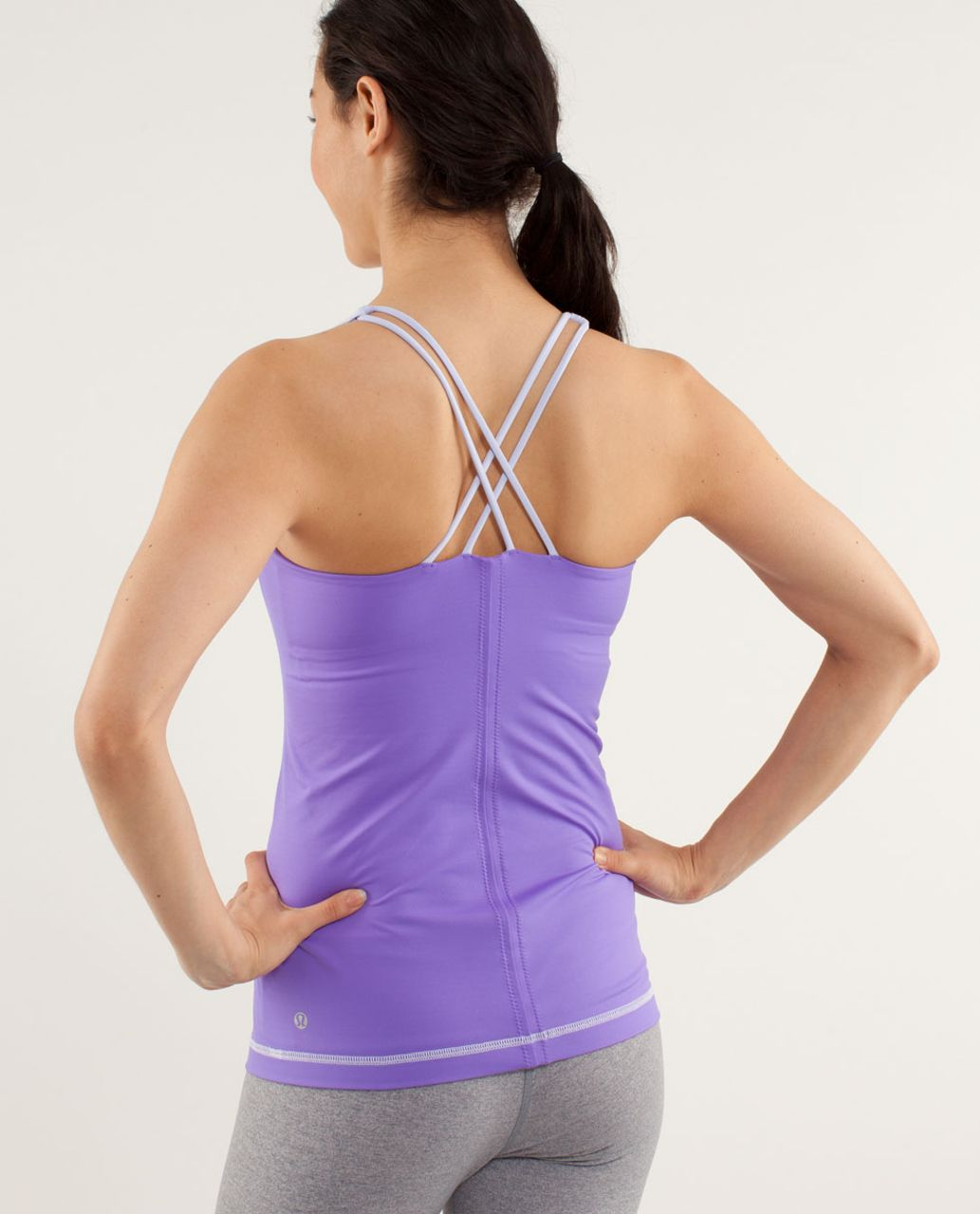 Lululemon Free To Be Tank - Cool Breeze / Power Purple