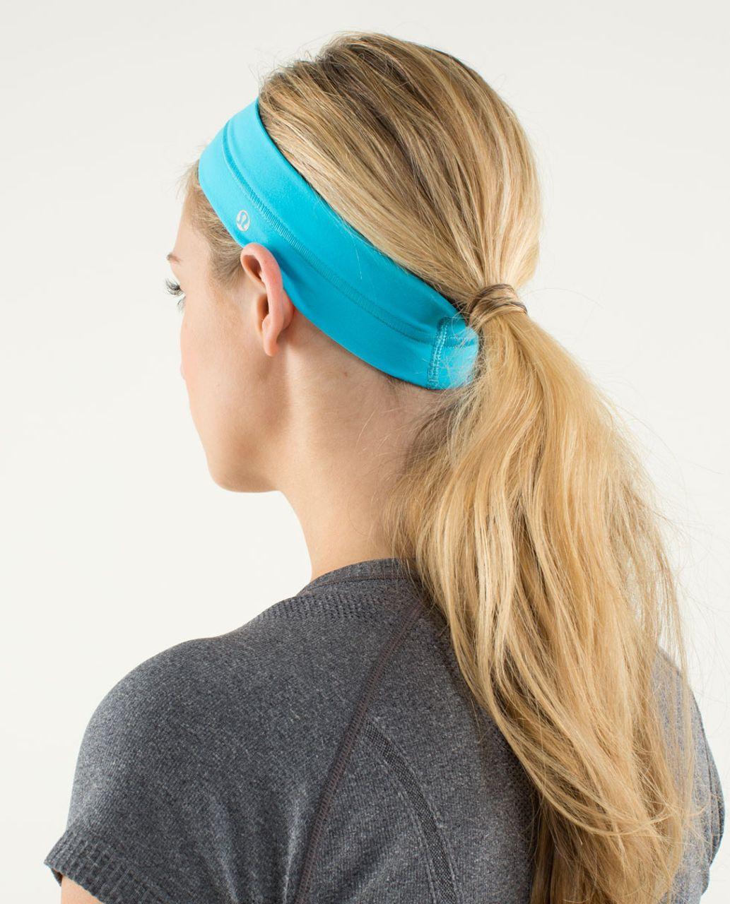 Lululemon Fly Away Tamer Headband - Spry Blue