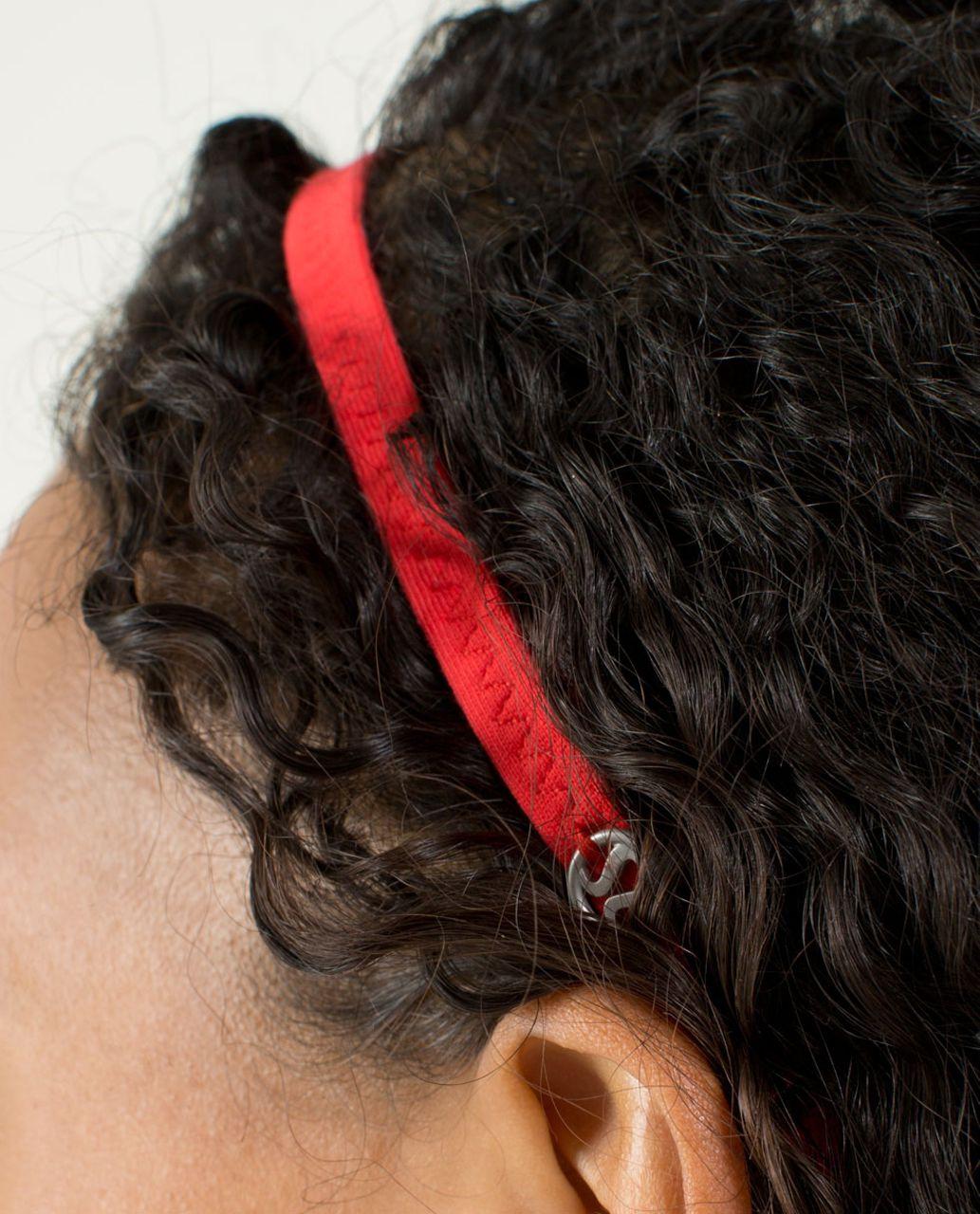 Lululemon Strappy Headband - Love Red