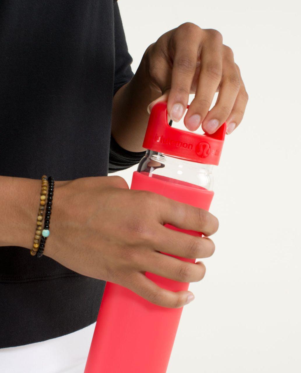 Lululemon Pure Balance Water Bottle - Love Red
