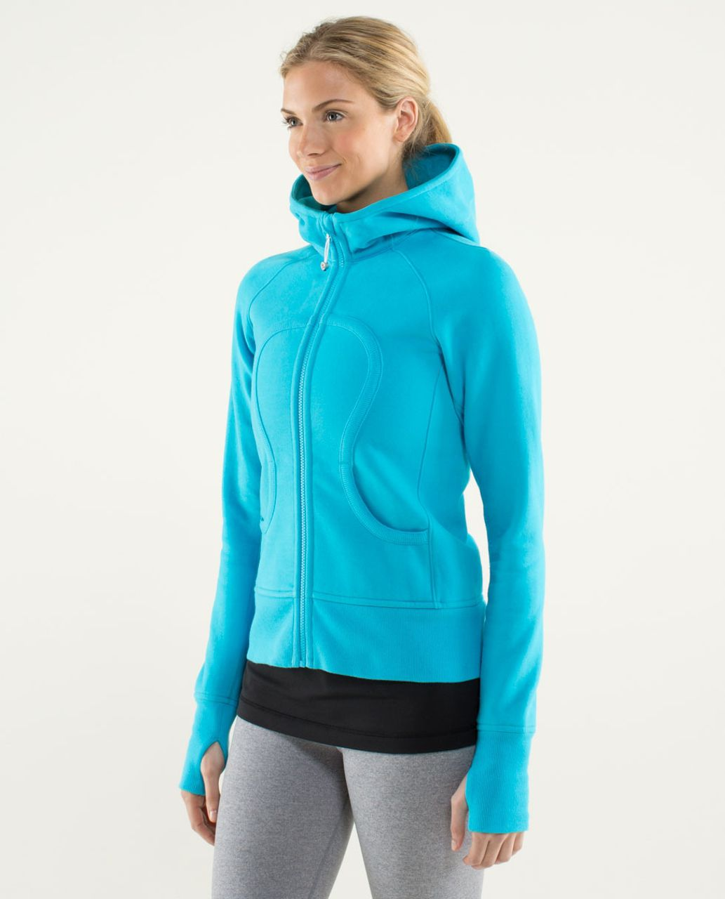 Lululemon Scuba Hoodie *Stretch (Lined Hood) - Spry Blue