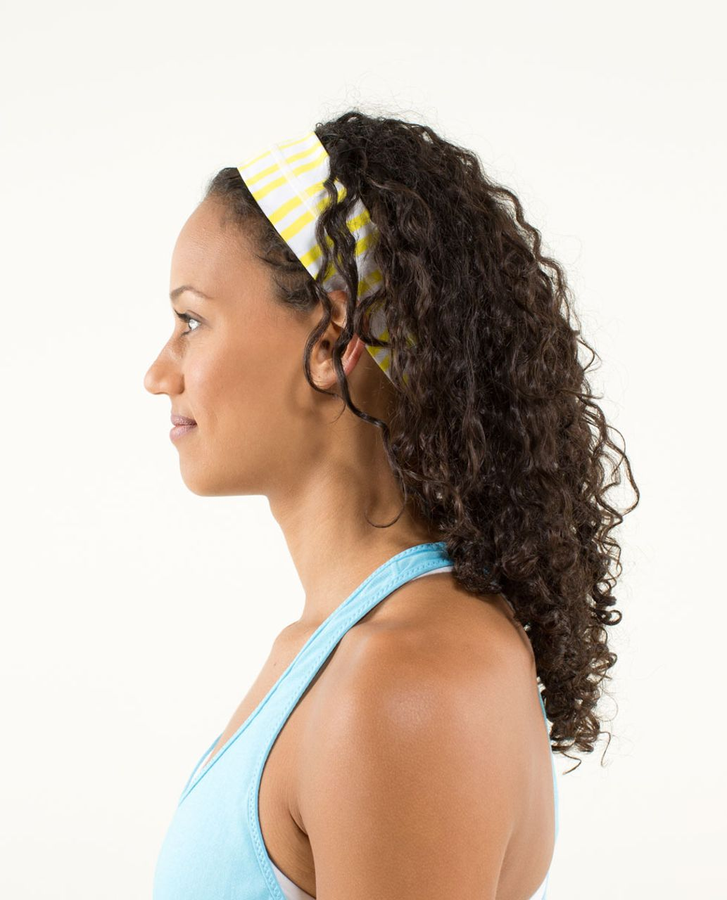 Lululemon Fly Away Tamer Headband - Twin Stripe Sizzle