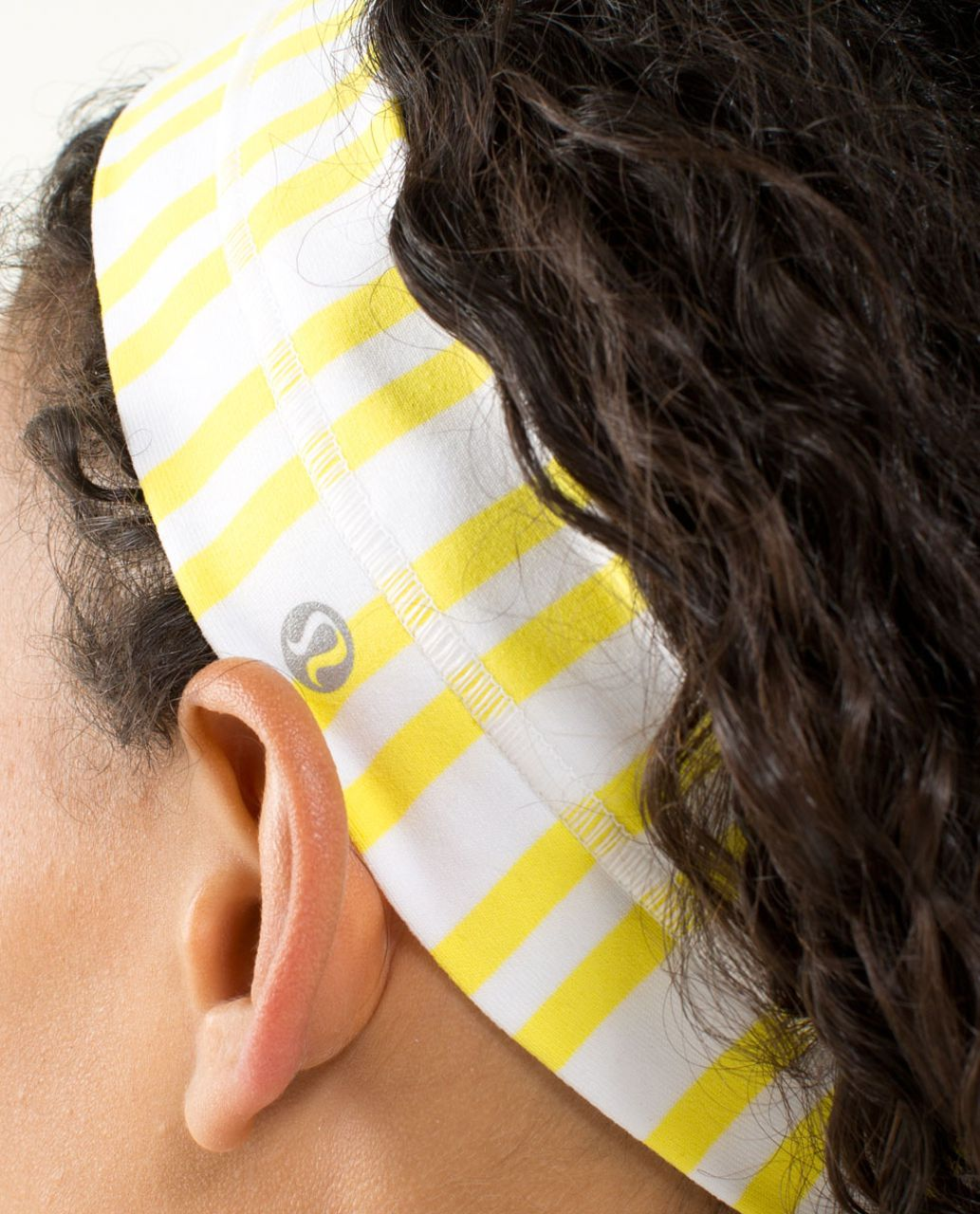 Lululemon Fly Away Tamer Headband - Twin Stripe Sizzle