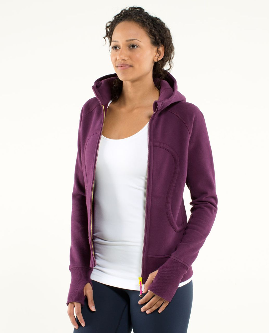 Lululemon Scuba Hoodie *Stretch (Lined Hood) - Plum