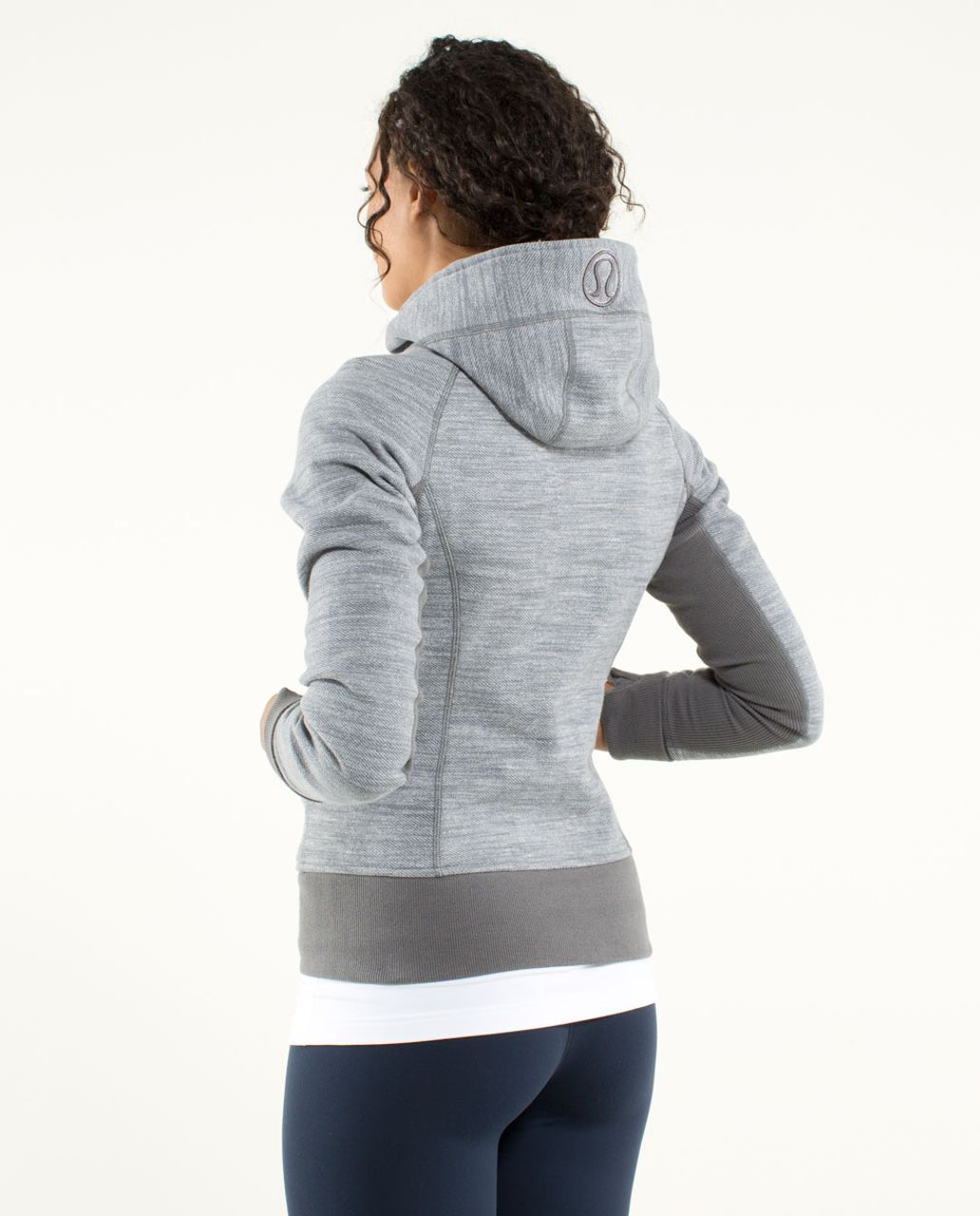 Lululemon Scuba Hoodie *Stretch (Lined Hood) - Commuter Denim Slate / Slate