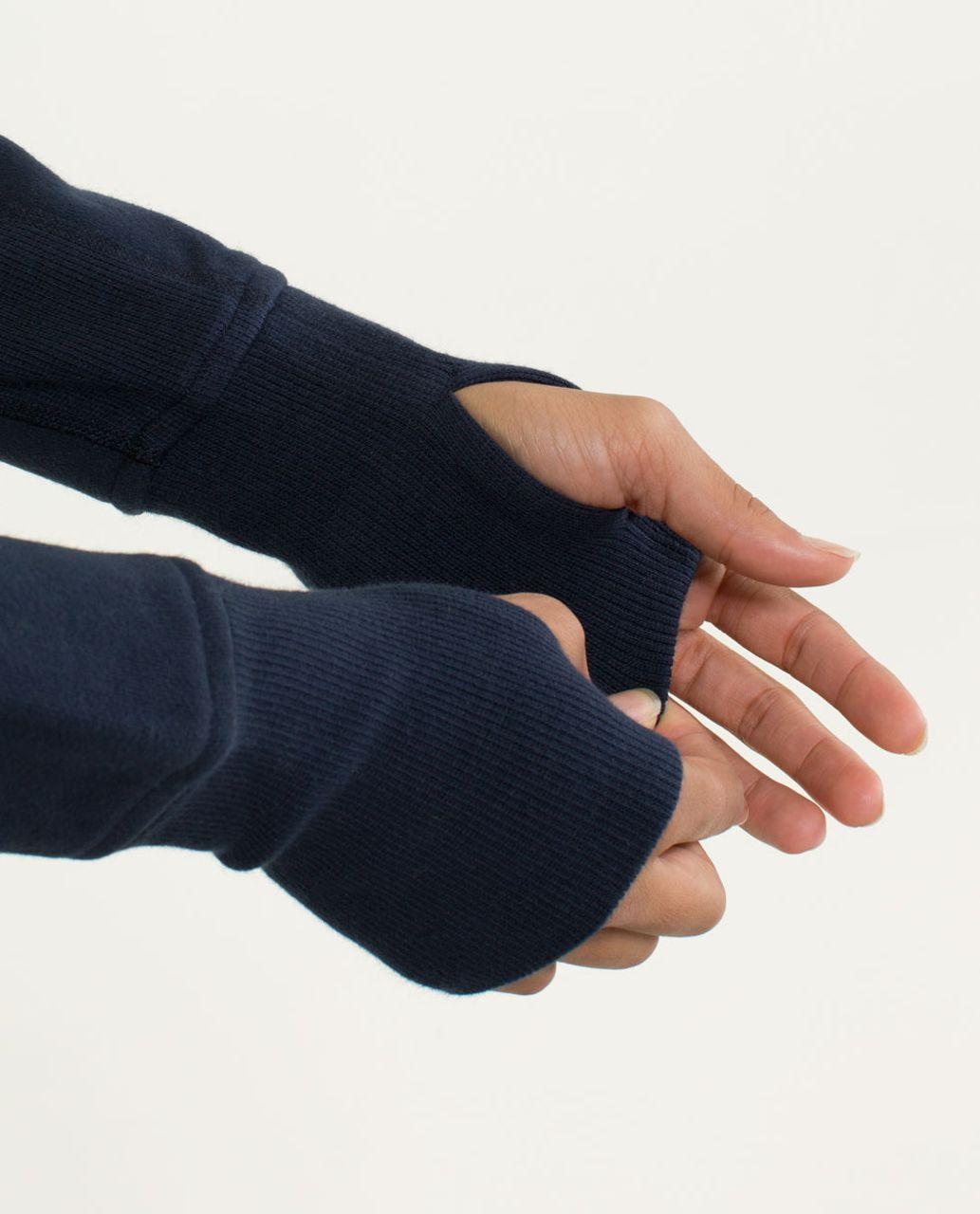 Lululemon Scuba Hoodie *Stretch (Lined Hood) - Split Pea / Inkwell / Pow Stripe Printed Split Pea