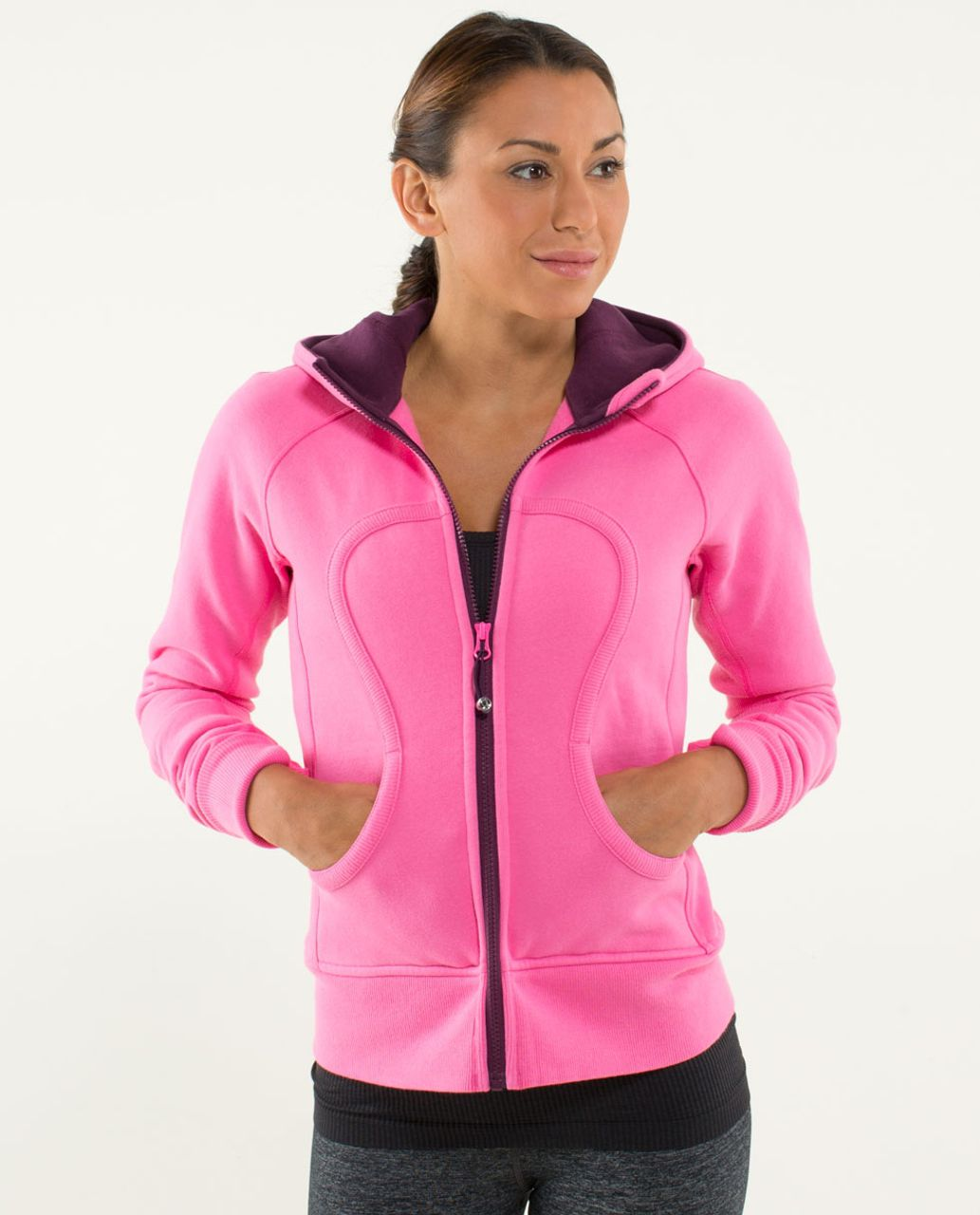 Lululemon Scuba Hoodie *Stretch (Lined Hood) - Afterglo / Plum