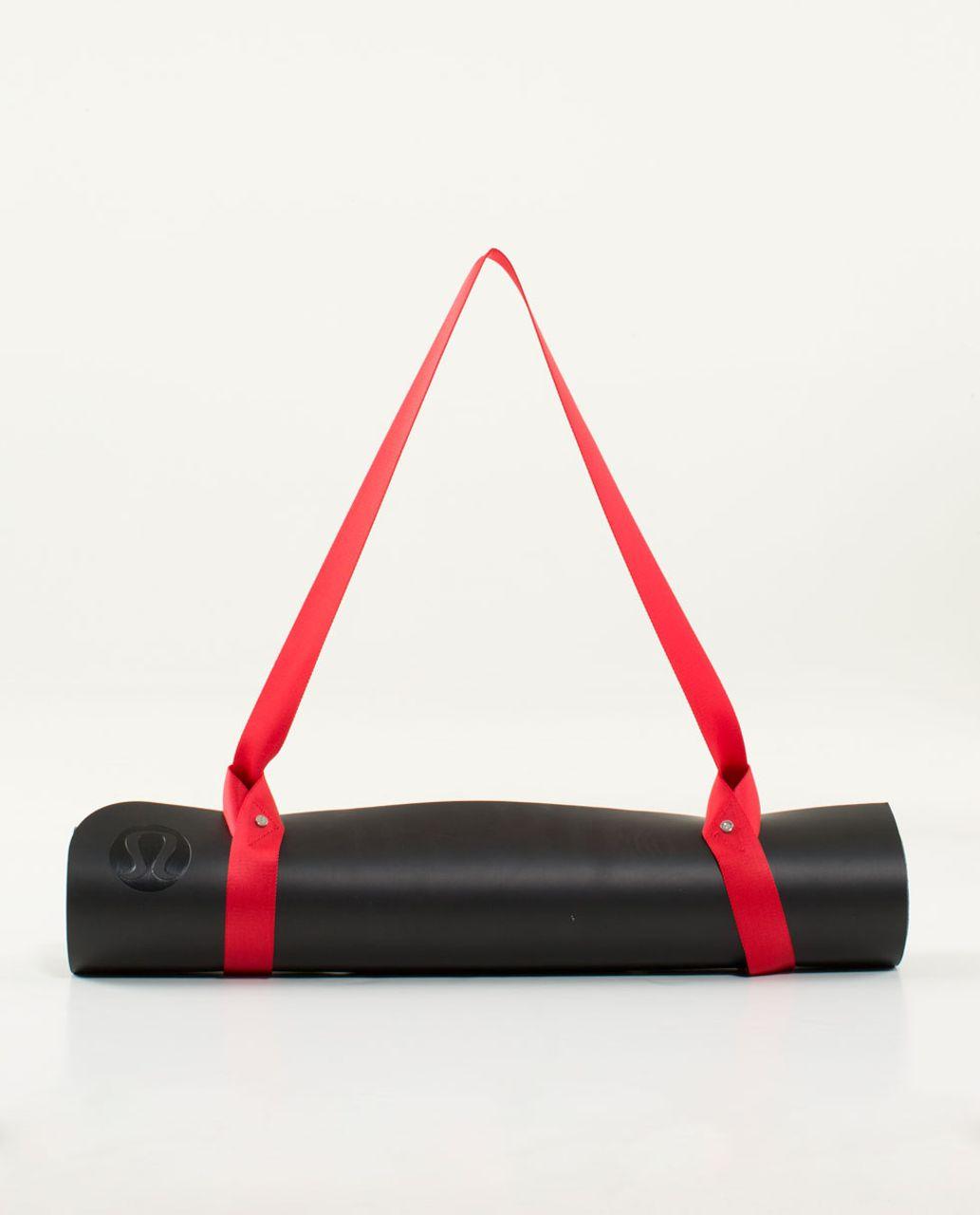 Lululemon Loop It Up Mat Strap - Love Red