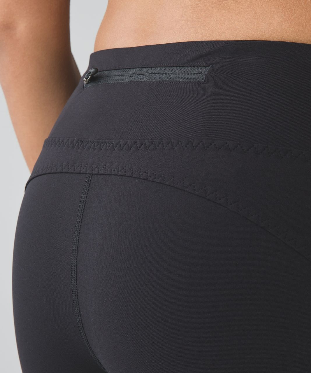 Lululemon Real Quick Crop *Full-On Luxtreme - Black