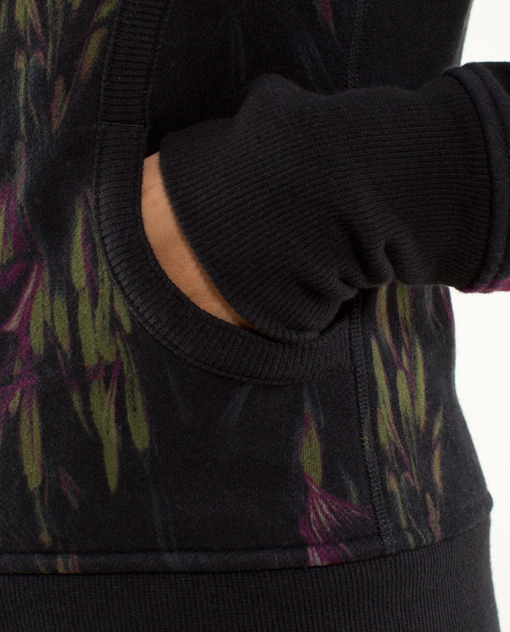 Lululemon Scuba Hoodie *Stretch (Lined Hood) - Midnight Iris Multi / Black