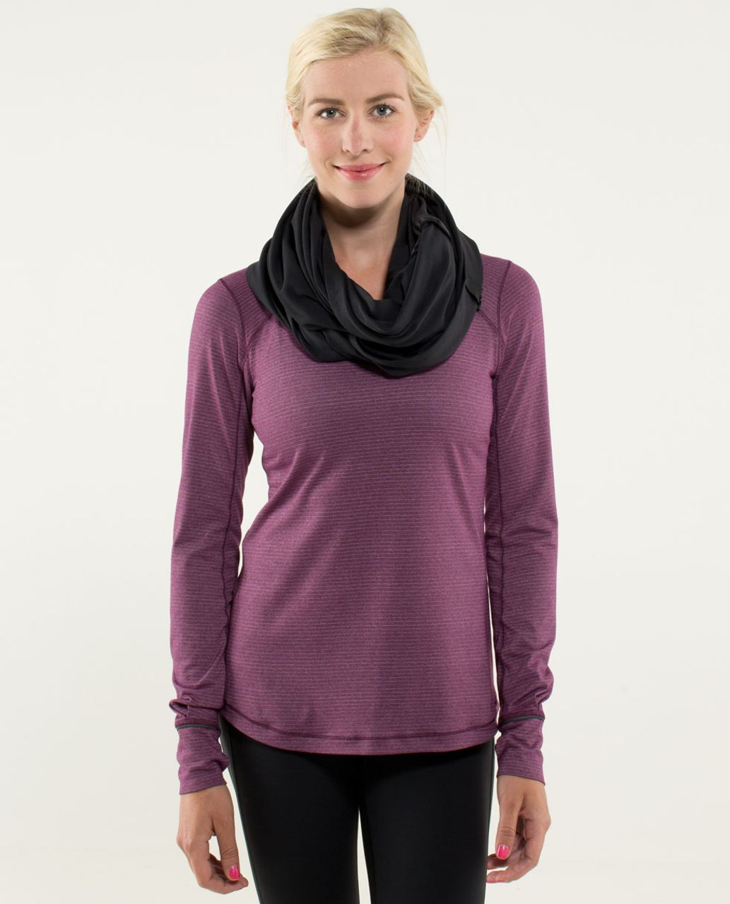 Lululemon Vinyasa Scarf *Luon Light - Black