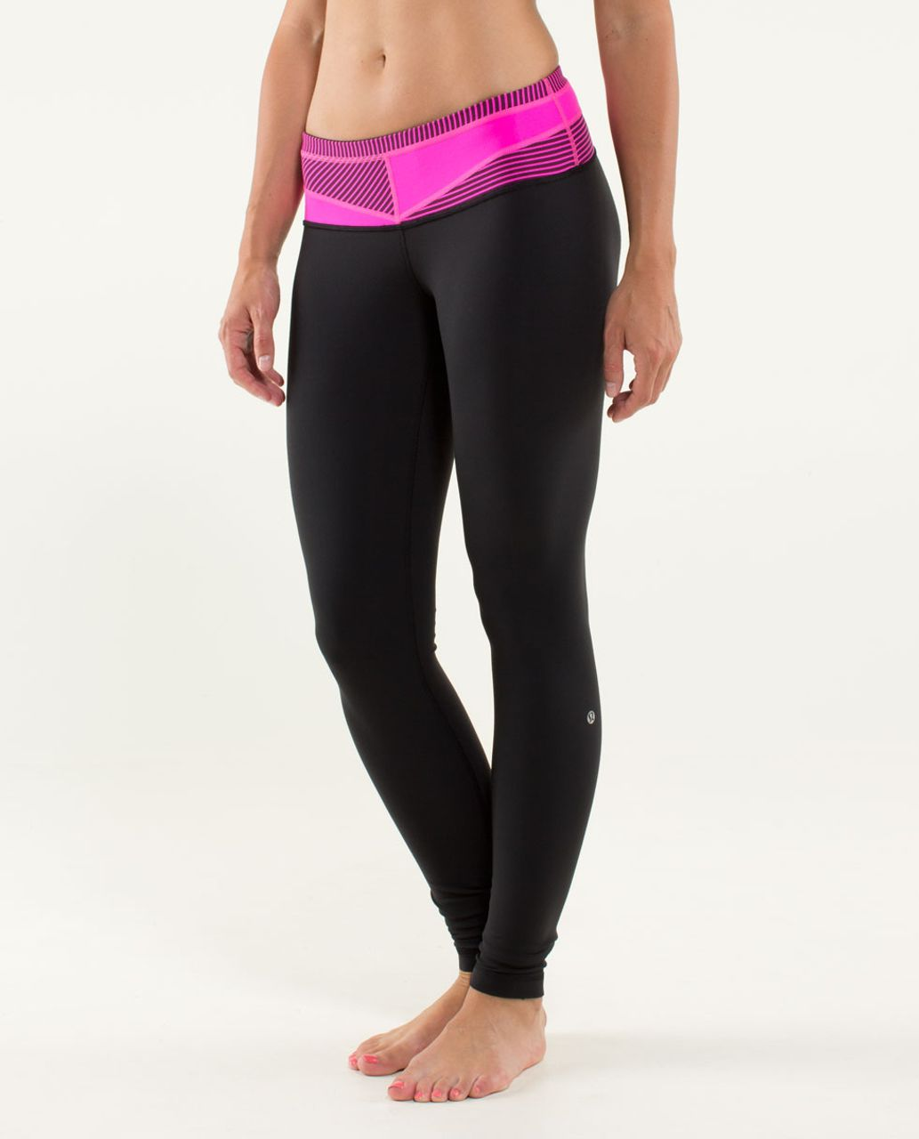 Lululemon Wunder Under Pant - Black / Quilt 06 Fall 2013
