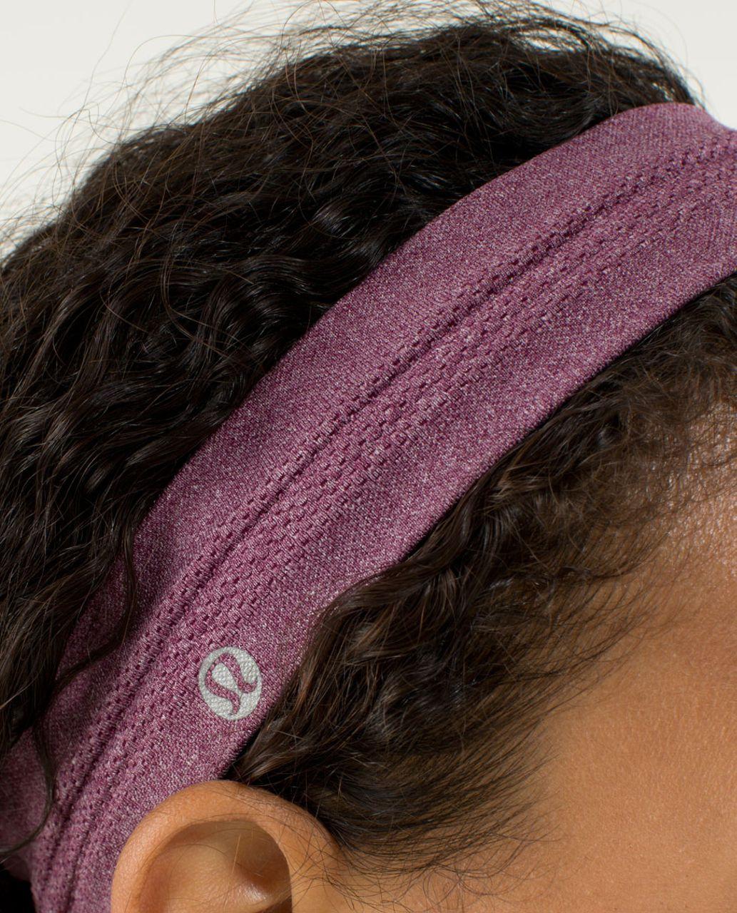 Lululemon Swiftly Headband - Heathered Plum