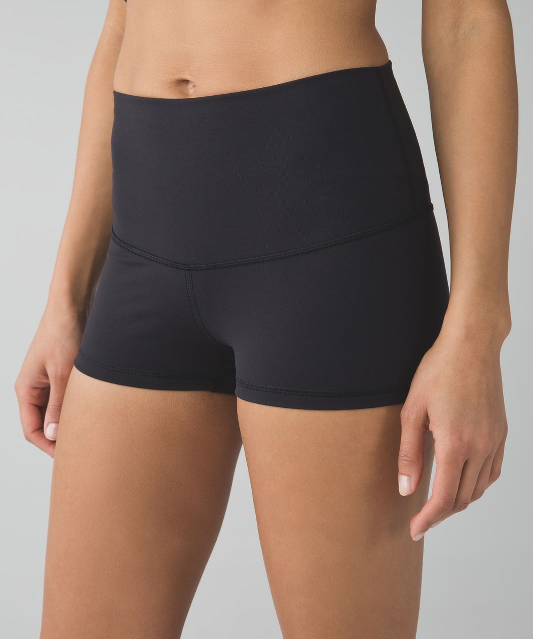 Lululemon Boogie Short (Roll Down) *Full-On Luon - Black