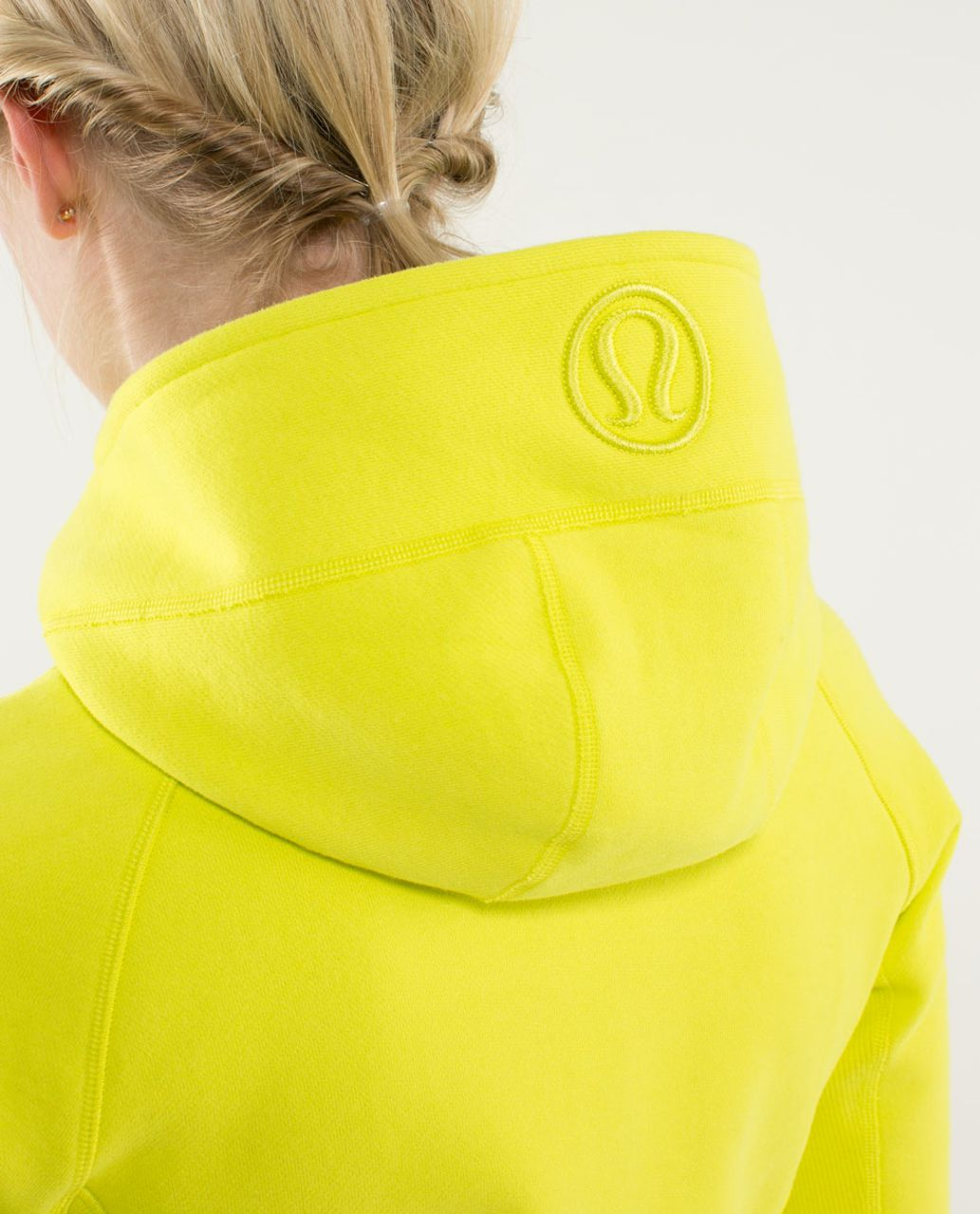 Lululemon Scuba Hoodie *Stretch (Lined Hood) - Split Pea