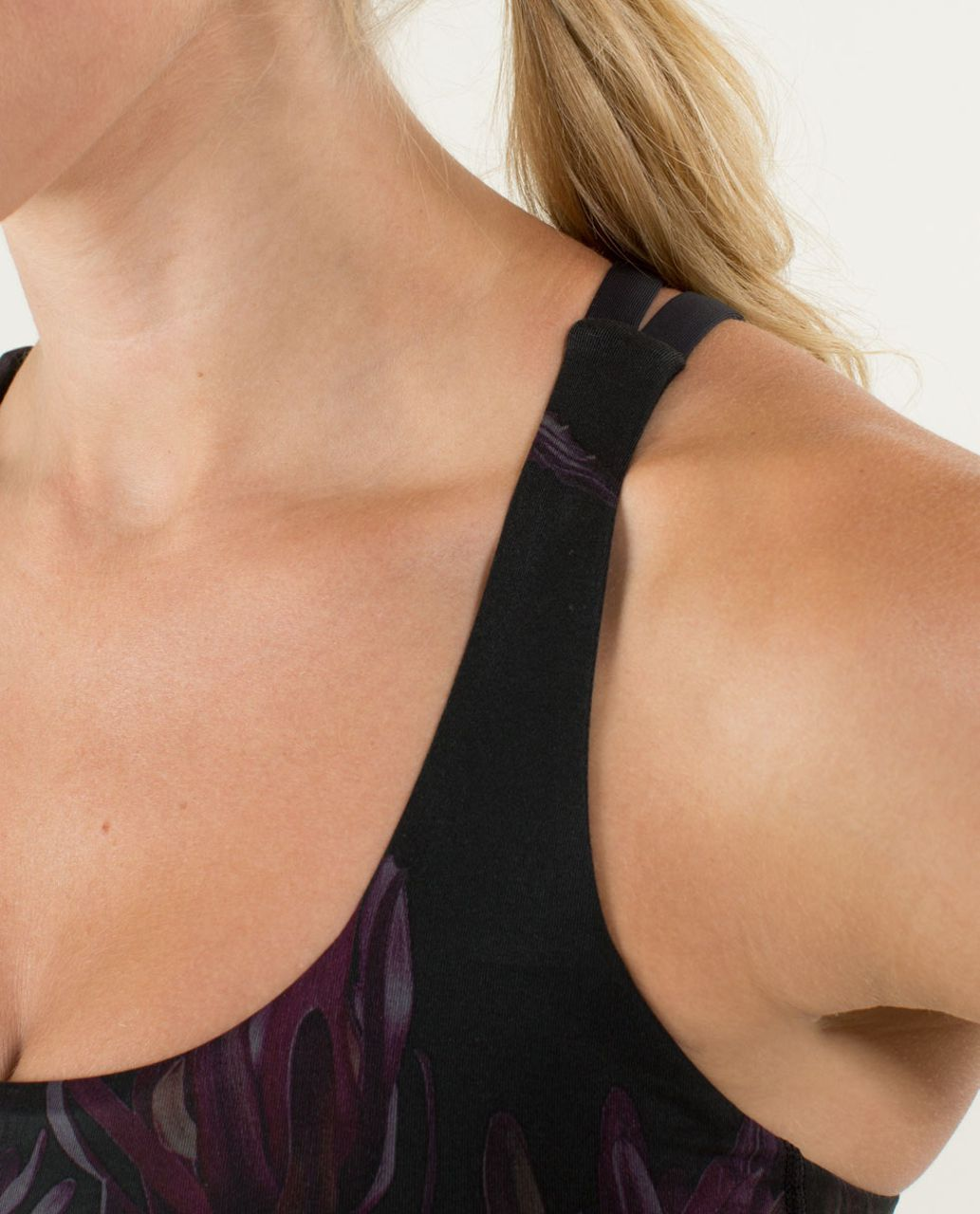 Lululemon Energy Bra - Midnight Iris Multi / Black